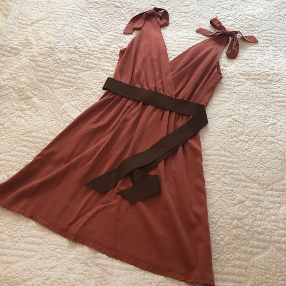 Dusty Rose dress from Mikanos perfect condition